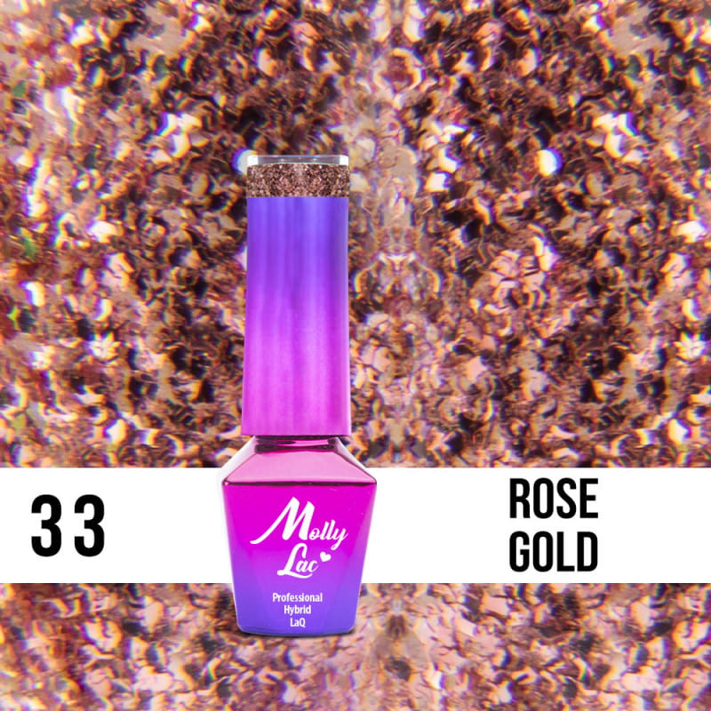 MOLLY LAC 5ml 33 ROSE GO